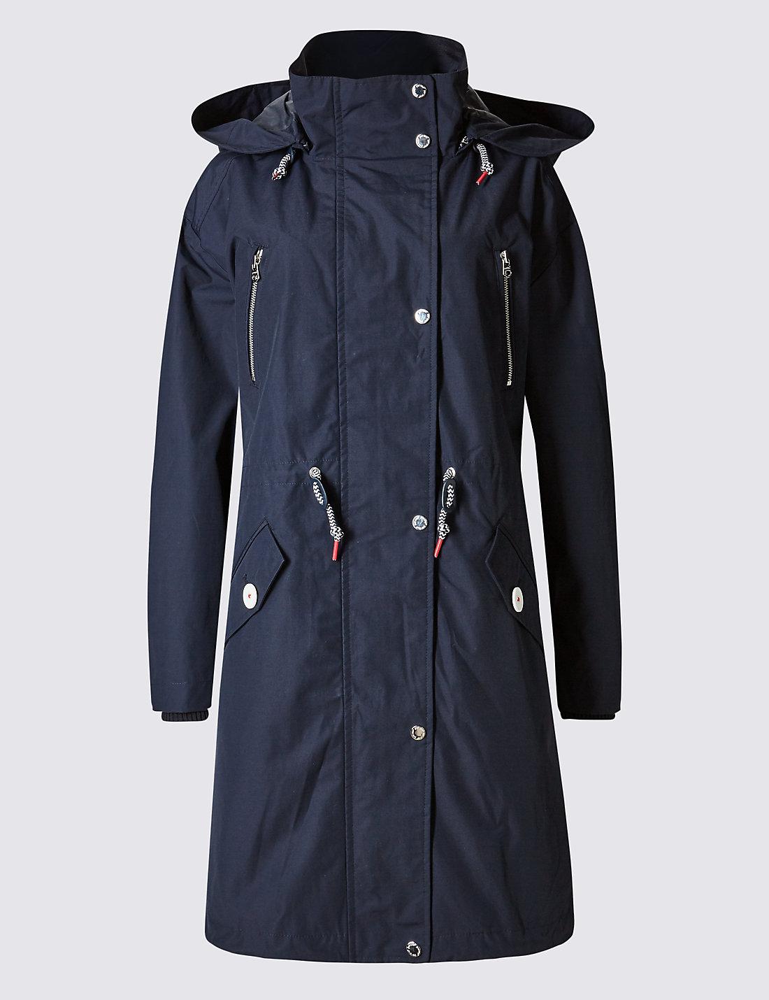 Grey Parka Coats &amp Jackets | M&ampS