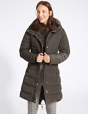 Padded Jacket with Stormwear™, MINK, catlanding