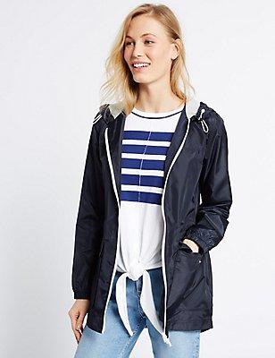 Pack Away Parka with Stormwear™, NAVY, catlanding