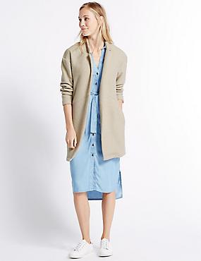 Textured Jacket, CAMEL, catlanding