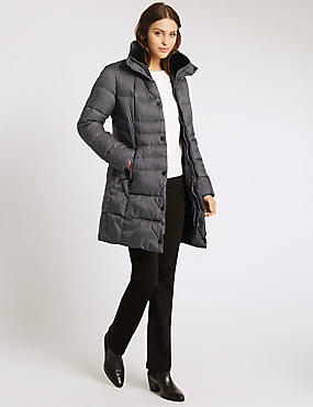 Padded & Quilted Coat with Stormwear™, NIGHTSHADE, catlanding