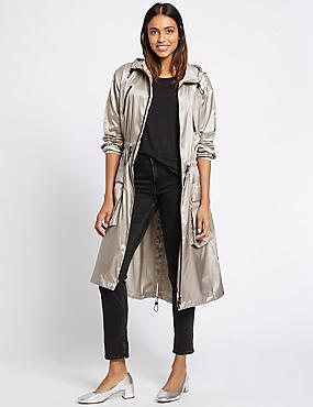 Parka with Stormwear™, SILVER, catlanding