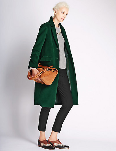 Images of Green Coat Women S - Reikian