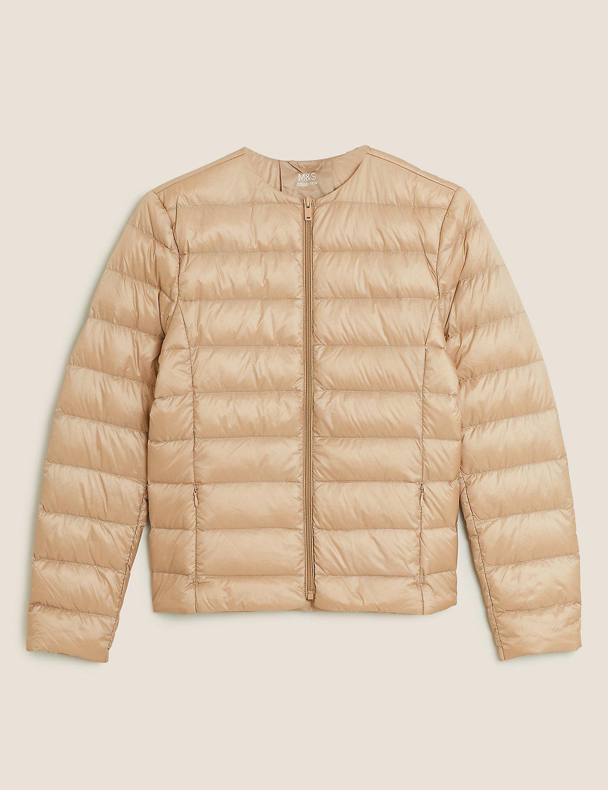 Легкая куртка-пуховик перо и пух