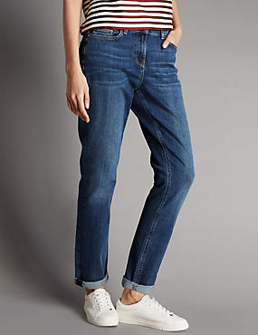 Girlfriend Denim Jeans