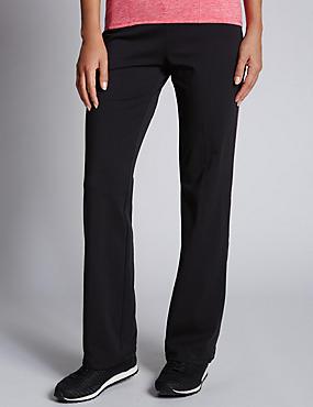 Cotton Rich Straight Leg Joggers, HOT PINK, catlanding