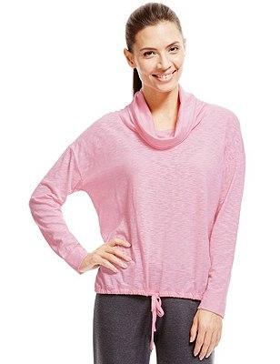 Camiseta de mínimo impacto de cuello desbocado con StayNEW™ con tecnología Cool Comfort™, , catlanding