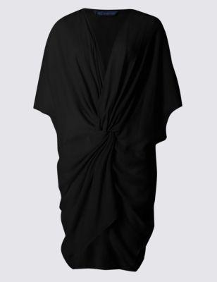 Пляжное платье-кафтан с узлом от Marks & Spencer