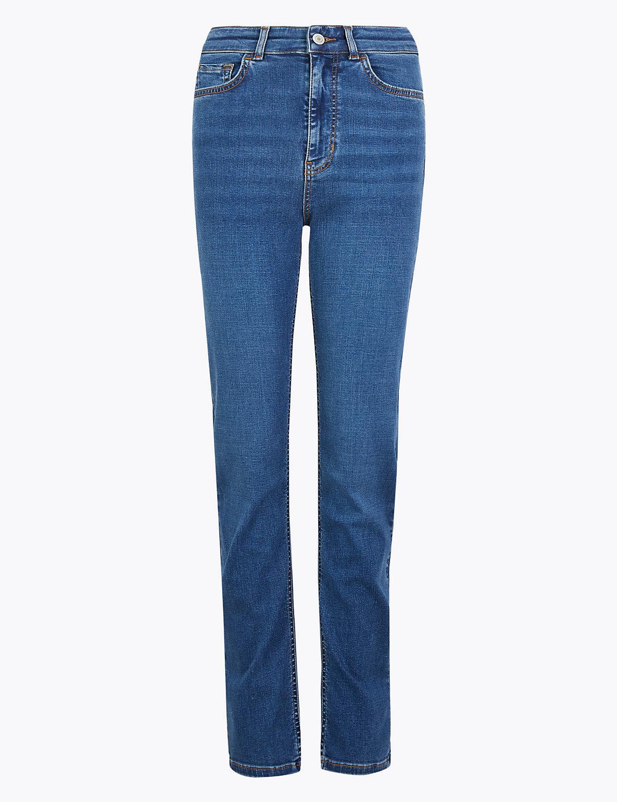 Прямые джинсы из ткани Tencel ™