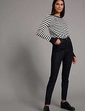 Jean skinny taille haute, , catlanding