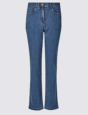 Straight Leg Jeans, DARK INDIGO, catlanding