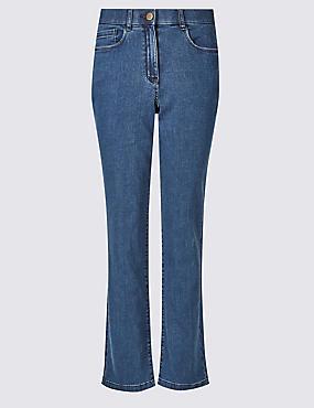 Jeans droits, INDIGO FONCÉ, catlanding