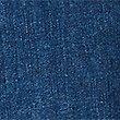 Embroidered Roma Rise Straight Leg Jeans, MEDIUM INDIGO, swatch
