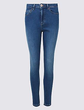 Sculpt & Lift Roma Rise Skinny Leg Jeans, BRIGHT BLUE, catlanding