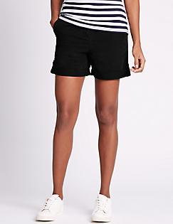 Womens Shorts | Ladies Denim, Chino & Cargo Shorts | M&S IE