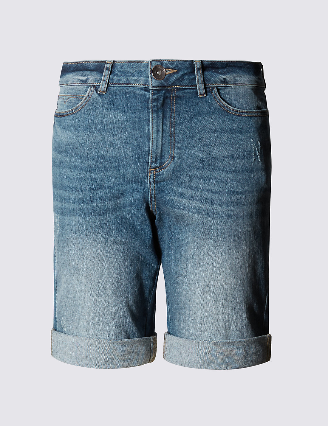 Boyfriend Denim Shorts | M&S