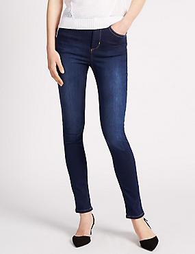 Roma Rise Slim Leg Jeans, INDIGO, catlanding