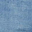 Pantacourt en jean coupe évasée taille normale, BLEU PÂLE, swatch