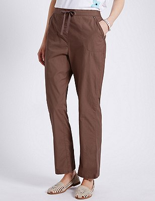Pure Cotton Rugby Trousers, MOCHA, catlanding