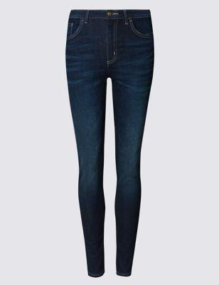 Классические джинсы скинни с низкой посадкой по линии талии M&S Collection T575300