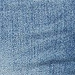 PETITE Mid Rise Ankle Straight Leg Jeans, LIGHT INDIGO, swatch