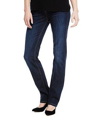 Ozone Straight Leg Denim Jeans, , catlanding