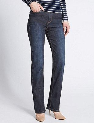 Ozone Straight Leg Denim Jeans, INDIGO MIX, catlanding
