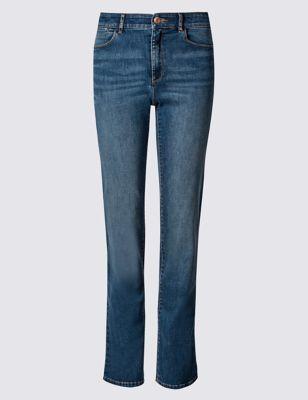 Прямые джинсы Sculpt & Lift M&S Collection T576365