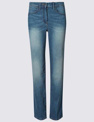 Прямые корректирующие джинсы от Marks & Spencer