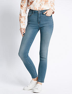 Sculpt & Lift Skinny Jeans, LIGHT INDIGO, catlanding