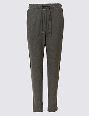 Textured Trousers, BLACK MIX, catlanding