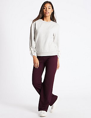 Cotton Rich Joggers, BERRY, catlanding