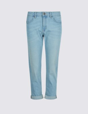 Укороченные джинсы скинии Relaxed