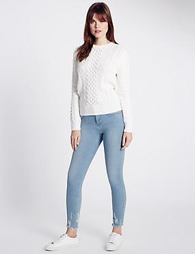 Super Skinny Jeans, LIGHT INDIGO, catlanding