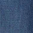 Eng geschnittene Jeans mit mittelhohem Bund und ausgefranstem Saum, BLAU GETÖNT, swatch