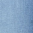 Frayed Hem Mid Rise Skinny Leg Jeans, MEDIUM INDIGO, swatch