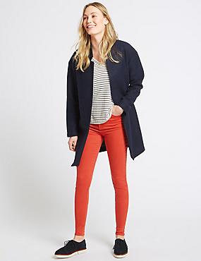 Mid Rise Skinny Leg Jeans, POPPY, catlanding