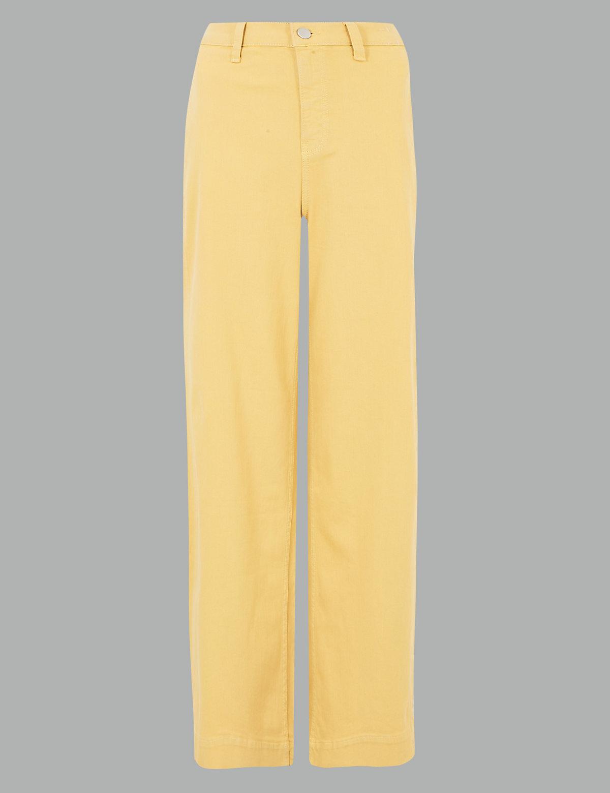 Джинсы Grazer средней посадки с широкими штанинами