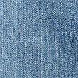 Longline Denim A-Line Skirt, MEDIUM INDIGO, swatch