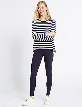 Core Leggings, NAVY, catlanding