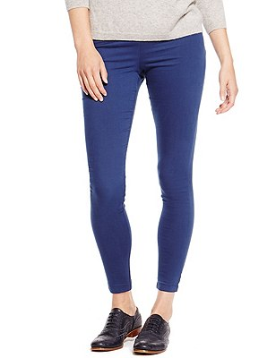 Pull On Jeggings, COBALT, catlanding