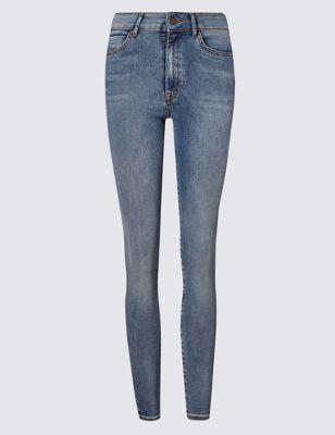 Ультрамягкие джинсы супер-скинни M&S Collection T578471