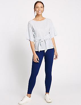 Cotton Rich Jeggings, COBALT, catlanding