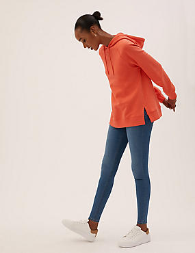 Pull-On-Jeggings, INDIGO MITTEL, catlanding