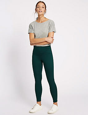 Skinny Leg High Rise Jeggings, PINE GREEN, catlanding