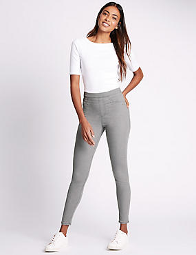 Cotton Rich Jeggings, LIGHT GREY, catlanding