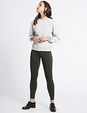 Jean ultra-skinny taille haute, MOUSSE, catlanding