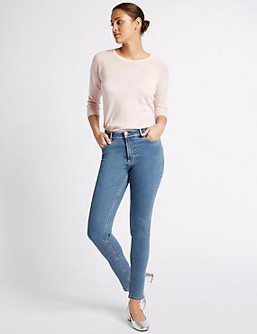 Skinny Jeans, PALE BLUE, catlanding