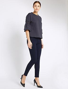 Skinny Jeans, INDIGO, catlanding