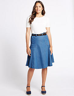 Denim Skirts -M&S